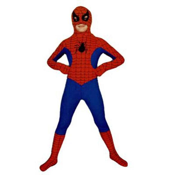 Disfraz Spiderman infantil, musculoso