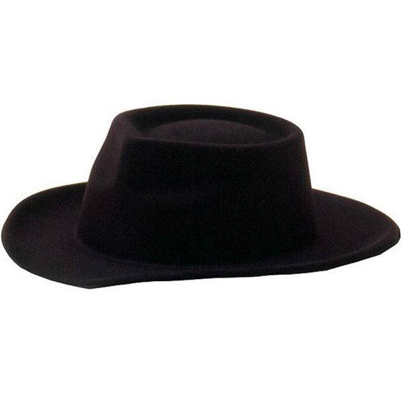 Sombrero flocado vaquero infantil