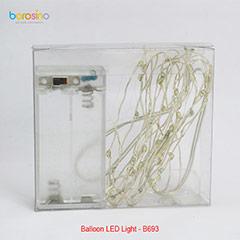 Cable de luz LED para globos burbuja