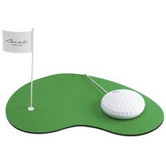 Ratón USB con alfombrilla modelo golf
