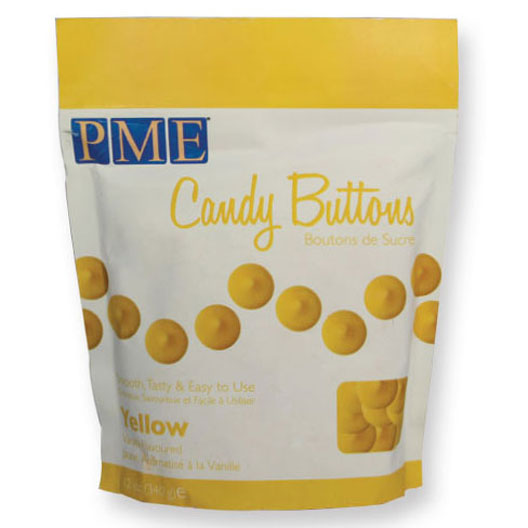 Candy Melts PME, Amarillo