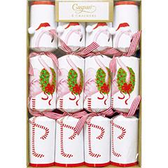 Christmas Flamingo, Christmas Crackers. Pack 12 u.