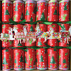 Hello Dolli, Christmas Crackers. Pack 6 u.