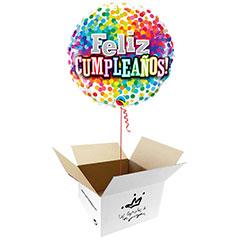 Globo Feliz Cumpleaños en Caja Sorpresa