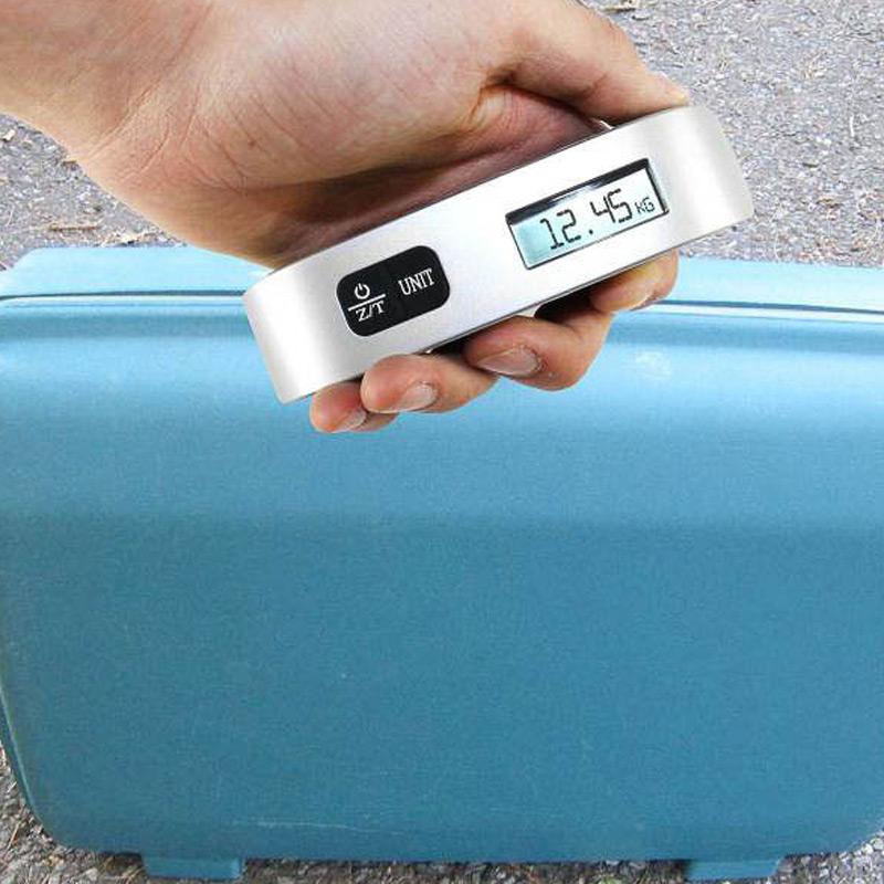 Báscula digital para equipaje
