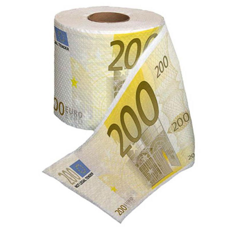 Papel WC 200 €