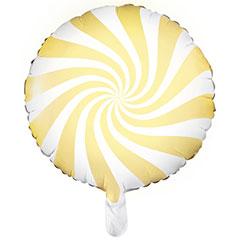 Globo Caramelo amarillo suave