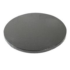 Base redonda para tartas en color negra