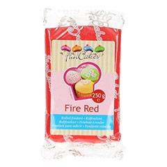 Fondant rojo fuego 250 gr. FunCakes