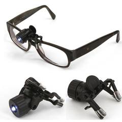 Linterna para gafas