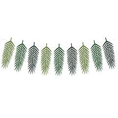 Guirnalda hojas tropicales Aloha