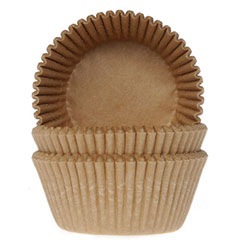 Cápsulas cupcakes para hornear Craft HM, Pack 50 u.