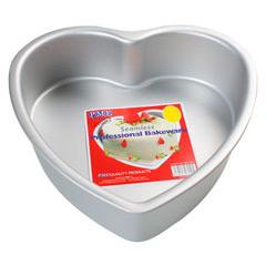 Molde corazón aluminio PME