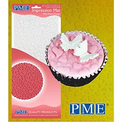 Tapete de Impresión de Mini Corazón, PME