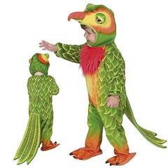 Disfraz papagayo infantil