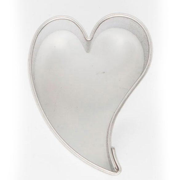 Cortador galletas con forma de corazón