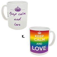 Taza Keep Calm and Love