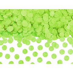 Confeti de papel redondo verde