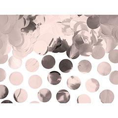Confeti de papel redondo