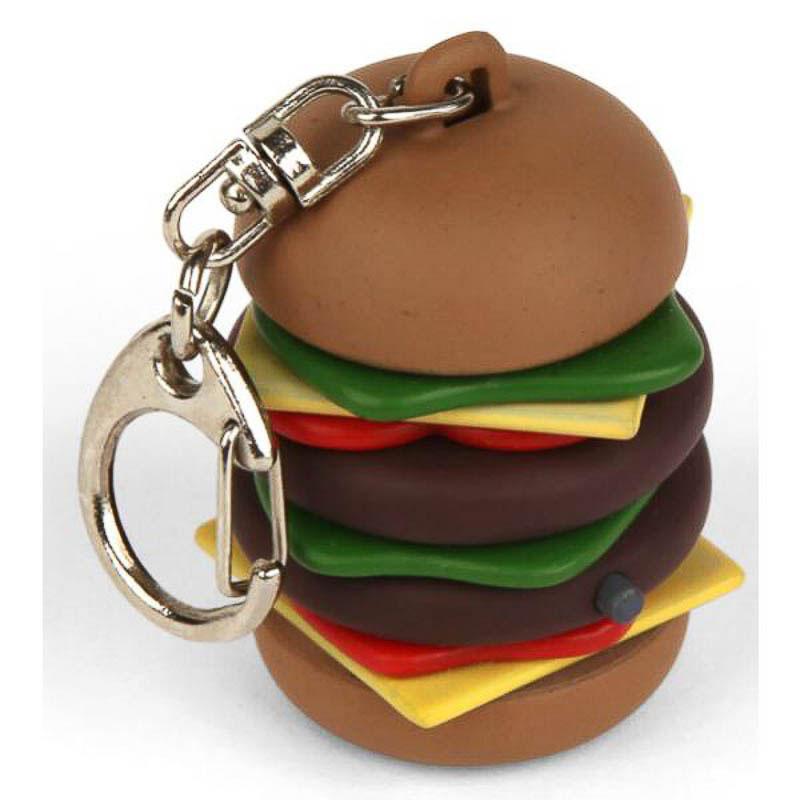 Llavero hamburguesa