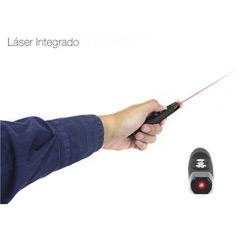 Presentador inalámbrico con puntero láser