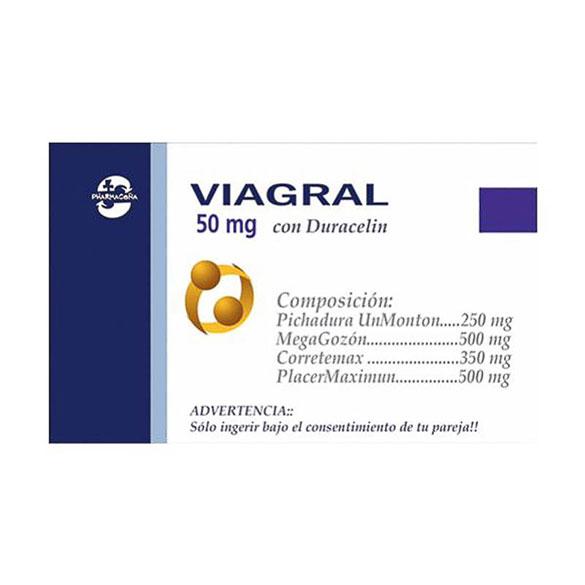 Viagral con duracelin