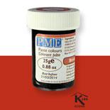 Colorante en pasta PME, Rojo Ladrillo, 25 g.