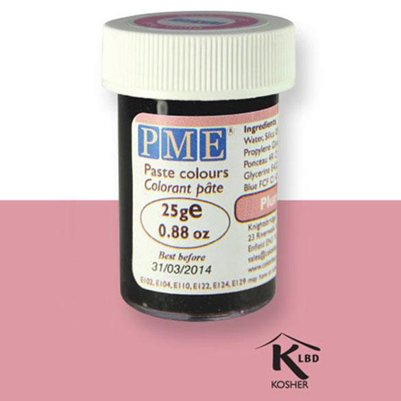 Colorante en pasta PME, Rosa Ciruela, 25 g.