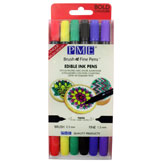 Rotuladores Tinta Comestible PME, 2 puntas, Pack 6 colores