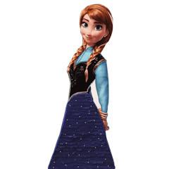 Piñata artesana Anna Frozen