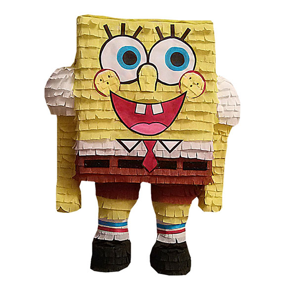 Piñata artesana Bob Esponja
