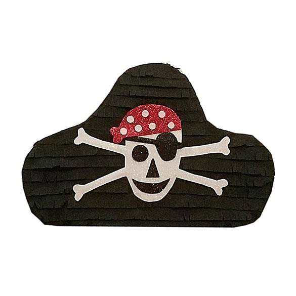 Piñata artesana Sombrero Pirata