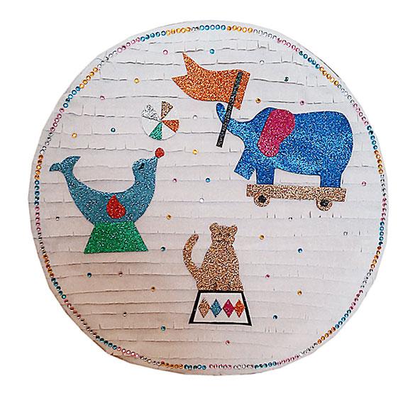 Piñata artesana Circo