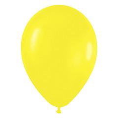 Globos de Látex Amarillos. Pack 50 unidades