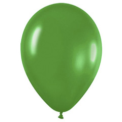 Globos de Látex Verdes Selva. Pack 50 unidades