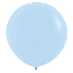 Globo de látex Azul Cielo Pastel 60 cm. 1 unidad