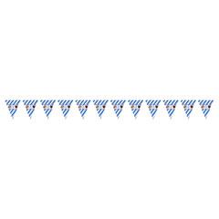 Guirnalda banderines triangulares Bavarian Oktoberfest
