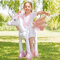Disfraz Unicornio con tirantes