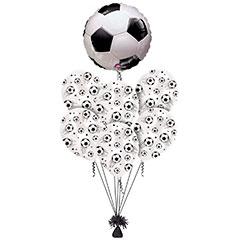 Ramo de Globos Balón de Fútbol redondo