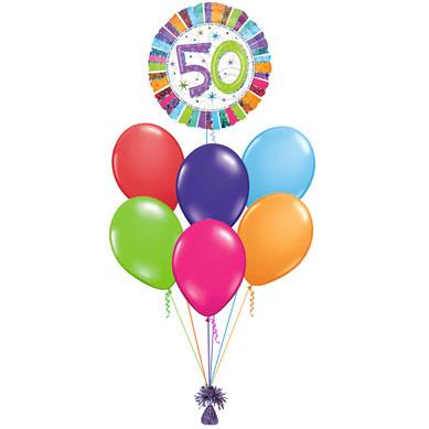 Ramo de Globos 50 años