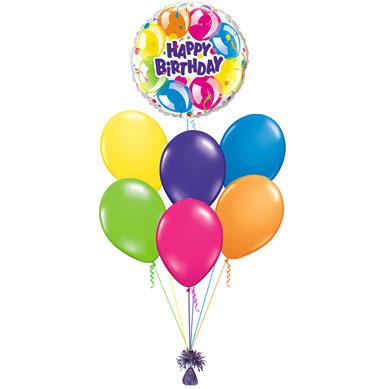 Ramo de Globos Happy Birthday XL