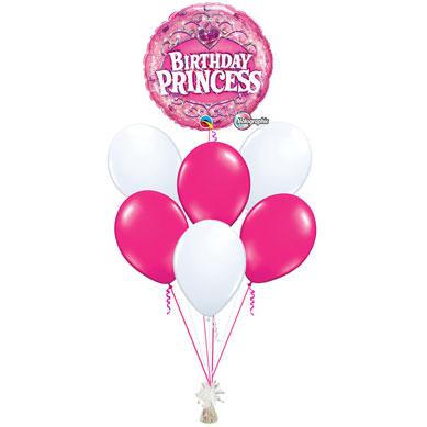 Ramo de Globos Happy Birthday Princess