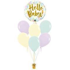 Ramo de Globos Hello Baby