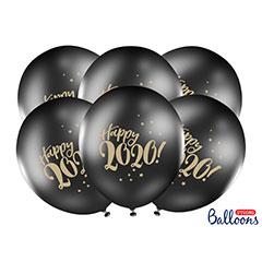 Globos de látex Happy 2020, Pack de 10 u.