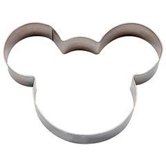 Cortador galletas con forma de cabeza de ratón Mickey