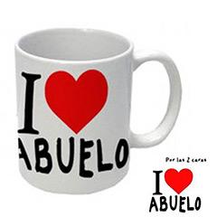 Taza I Love Abuelo