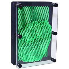 Molde de clavos de plástico verde