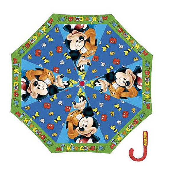 Paraguas Mickey Mouse y Pluto tela