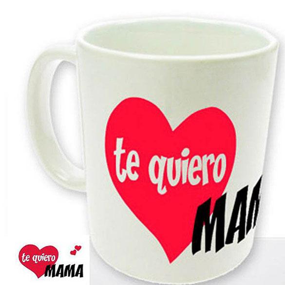 Taza Te quiero Mamá