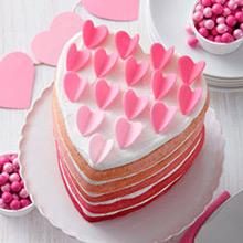 Moldes antiadherente para tarta con forma de corazón, 5 u - Ítem2